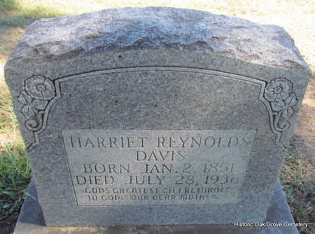 REYNOLDS DAVIS, HARRIET - Faulkner County, Arkansas | HARRIET REYNOLDS DAVIS - Arkansas Gravestone Photos