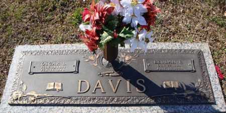 DAVIS, BEULAH E. - Faulkner County, Arkansas | BEULAH E. DAVIS - Arkansas Gravestone Photos