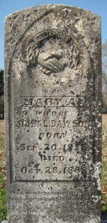 DAWSON, MARY A. - Faulkner County, Arkansas | MARY A. DAWSON - Arkansas Gravestone Photos
