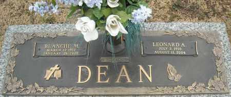 DEAN, BLANCHE M. - Faulkner County, Arkansas | BLANCHE M. DEAN - Arkansas Gravestone Photos