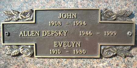 DEPSKY, EVELYN - Faulkner County, Arkansas | EVELYN DEPSKY - Arkansas Gravestone Photos