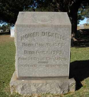 DICKENS, HOMER - Faulkner County, Arkansas | HOMER DICKENS - Arkansas Gravestone Photos