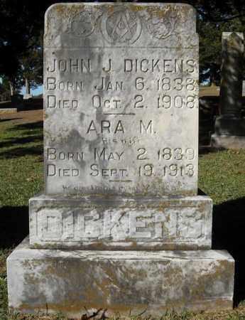 DICKENS, JOHN J. - Faulkner County, Arkansas | JOHN J. DICKENS - Arkansas Gravestone Photos