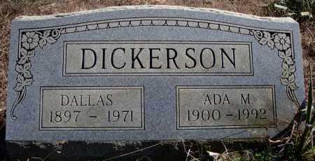 DICKERSON, ADA M. - Faulkner County, Arkansas | ADA M. DICKERSON - Arkansas Gravestone Photos