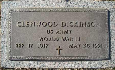 DICKINSON (VETERAN WWII), GLENWOOD - Faulkner County, Arkansas | GLENWOOD DICKINSON (VETERAN WWII) - Arkansas Gravestone Photos