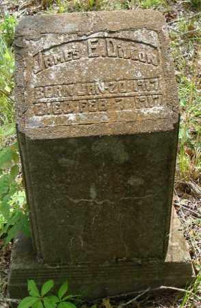 DILLON, JAMES E. - Faulkner County, Arkansas | JAMES E. DILLON - Arkansas Gravestone Photos