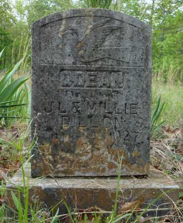 DILLON, ODEAN - Faulkner County, Arkansas | ODEAN DILLON - Arkansas Gravestone Photos