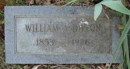 DILLON, WILLIAM A. - Faulkner County, Arkansas   WILLIAM A. DILLON - Arkansas Gravestone Photos