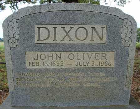 DIXON, JOHN OLIVER - Faulkner County, Arkansas   JOHN OLIVER DIXON - Arkansas Gravestone Photos