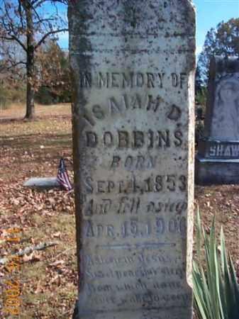DOBBINS, ISAIAH D. - Faulkner County, Arkansas   ISAIAH D. DOBBINS - Arkansas Gravestone Photos