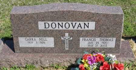 DONOVAN, FRANCIS THOMAS - Faulkner County, Arkansas   FRANCIS THOMAS DONOVAN - Arkansas Gravestone Photos