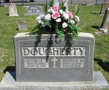 DOUGHERTY, JENNIE M. - Faulkner County, Arkansas | JENNIE M. DOUGHERTY - Arkansas Gravestone Photos