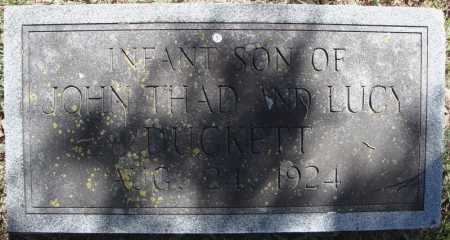 DUCKETT, INFANT SON - Faulkner County, Arkansas | INFANT SON DUCKETT - Arkansas Gravestone Photos