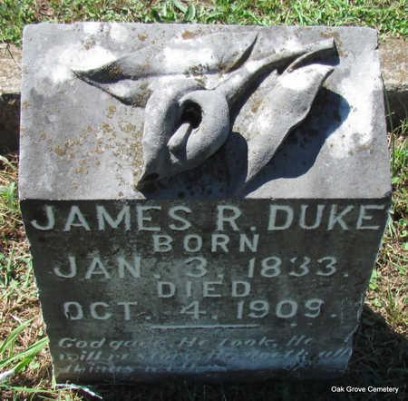 DUKE (VETERAN CSA), JAMES R - Faulkner County, Arkansas   JAMES R DUKE (VETERAN CSA) - Arkansas Gravestone Photos