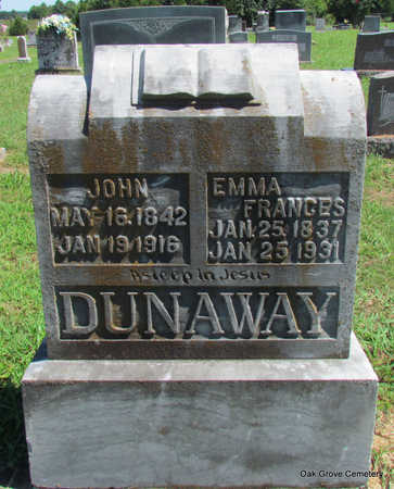 DUNAWAY, JOHN - Faulkner County, Arkansas | JOHN DUNAWAY - Arkansas Gravestone Photos