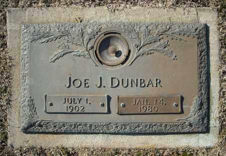 DUNBAR, JOE J. - Faulkner County, Arkansas   JOE J. DUNBAR - Arkansas Gravestone Photos