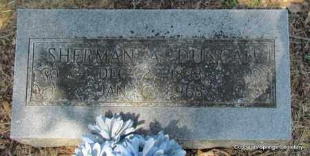 DUNCAN, SHERMAN ARTHUR - Faulkner County, Arkansas | SHERMAN ARTHUR DUNCAN - Arkansas Gravestone Photos