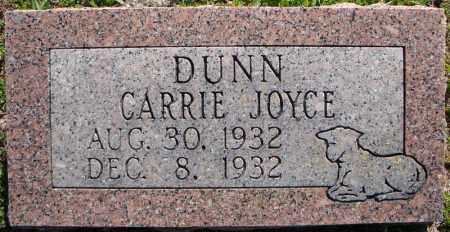 DUNN, CARRIE JOYCE - Faulkner County, Arkansas   CARRIE JOYCE DUNN - Arkansas Gravestone Photos