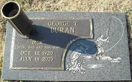 DURAN, GEORGE T. - Faulkner County, Arkansas | GEORGE T. DURAN - Arkansas Gravestone Photos