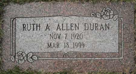 DURAN, RUTH AILEEN (2 STONES) - Faulkner County, Arkansas | RUTH AILEEN (2 STONES) DURAN - Arkansas Gravestone Photos