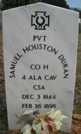 DURAN (VETERAN CSA), SAMUEL HOUSTON - Faulkner County, Arkansas   SAMUEL HOUSTON DURAN (VETERAN CSA) - Arkansas Gravestone Photos