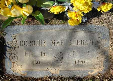 DURHAM, DOROTHY MAE - Faulkner County, Arkansas   DOROTHY MAE DURHAM - Arkansas Gravestone Photos