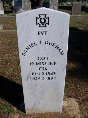 DURHAM (VETERAN CSA), DANIEL T - Faulkner County, Arkansas | DANIEL T DURHAM (VETERAN CSA) - Arkansas Gravestone Photos