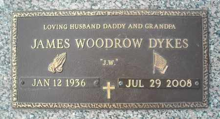 DYKES, JAMES WOODROW - Faulkner County, Arkansas | JAMES WOODROW DYKES - Arkansas Gravestone Photos
