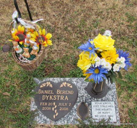DYKSTRA (INFANT SECT 2), DANIEL BEREND - Faulkner County, Arkansas | DANIEL BEREND DYKSTRA (INFANT SECT 2) - Arkansas Gravestone Photos
