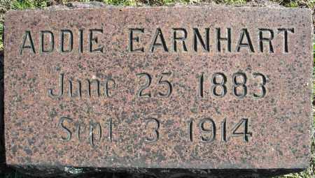 EARNHART, ADDIE - Faulkner County, Arkansas | ADDIE EARNHART - Arkansas Gravestone Photos