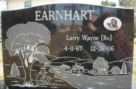"EARNHART, LARRY WAYNE ""RO"" - Faulkner County, Arkansas | LARRY WAYNE ""RO"" EARNHART - Arkansas Gravestone Photos"