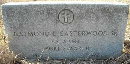 EASTERWOOD, SR. (VETERAN WWII), RAYMOND L - Faulkner County, Arkansas | RAYMOND L EASTERWOOD, SR. (VETERAN WWII) - Arkansas Gravestone Photos
