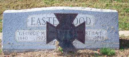 EASTERWOOD (VETERAN CSA), GEORGE M - Faulkner County, Arkansas | GEORGE M EASTERWOOD (VETERAN CSA) - Arkansas Gravestone Photos