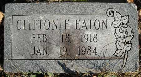 EATON, CLIFTON E. - Faulkner County, Arkansas | CLIFTON E. EATON - Arkansas Gravestone Photos