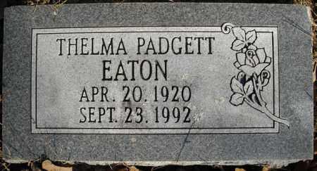 EATON, THELMA - Faulkner County, Arkansas | THELMA EATON - Arkansas Gravestone Photos