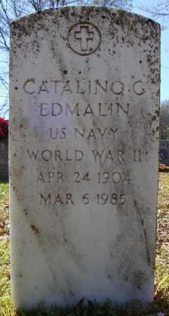 EDMALIN (VETERAN WWII), CATALINO G - Faulkner County, Arkansas | CATALINO G EDMALIN (VETERAN WWII) - Arkansas Gravestone Photos