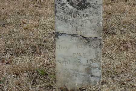 EDMONSON, JUNIA CRETES - Faulkner County, Arkansas | JUNIA CRETES EDMONSON - Arkansas Gravestone Photos