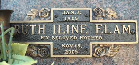 ELAM, RUTH ILINE - Faulkner County, Arkansas   RUTH ILINE ELAM - Arkansas Gravestone Photos