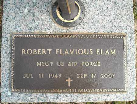 ELAM (VETERAN), ROBERT FLAVIOUS - Faulkner County, Arkansas | ROBERT FLAVIOUS ELAM (VETERAN) - Arkansas Gravestone Photos