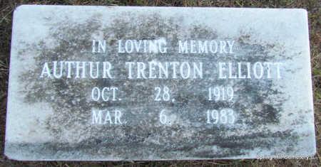 ELLIOTT, AUTHUR TRENTON - Faulkner County, Arkansas   AUTHUR TRENTON ELLIOTT - Arkansas Gravestone Photos