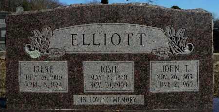 "VADEN ELLIOTT, JOSEPHINE ""JOSIE"" - Faulkner County, Arkansas | JOSEPHINE ""JOSIE"" VADEN ELLIOTT - Arkansas Gravestone Photos"