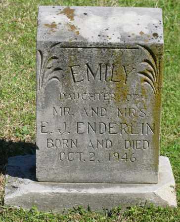 ENDERLIN, EMILY - Faulkner County, Arkansas | EMILY ENDERLIN - Arkansas Gravestone Photos