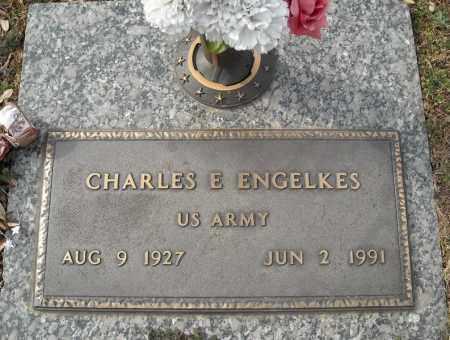 ENGELKES (VETERAN), CHARLES E - Faulkner County, Arkansas   CHARLES E ENGELKES (VETERAN) - Arkansas Gravestone Photos