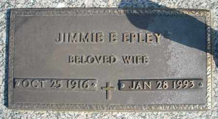 EPLEY, JIMMIE E. - Faulkner County, Arkansas | JIMMIE E. EPLEY - Arkansas Gravestone Photos