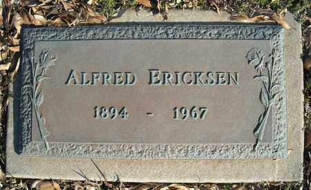 ERICKSEN, ALFRED - Faulkner County, Arkansas | ALFRED ERICKSEN - Arkansas Gravestone Photos
