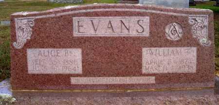 EVANS, ALICE B. - Faulkner County, Arkansas | ALICE B. EVANS - Arkansas Gravestone Photos