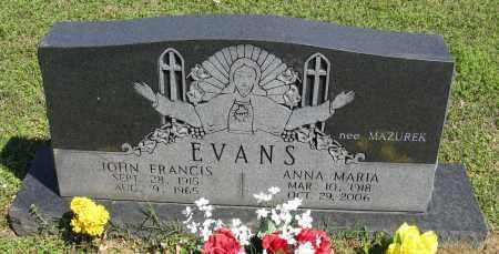 EVANS, ANNA MARIA - Faulkner County, Arkansas | ANNA MARIA EVANS - Arkansas Gravestone Photos