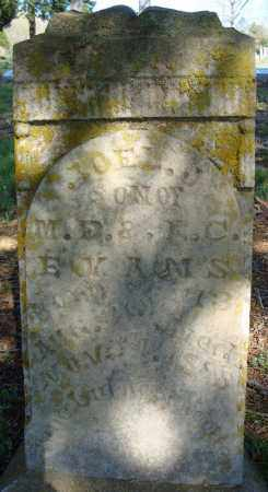 EVANS, JOEL J. - Faulkner County, Arkansas   JOEL J. EVANS - Arkansas Gravestone Photos
