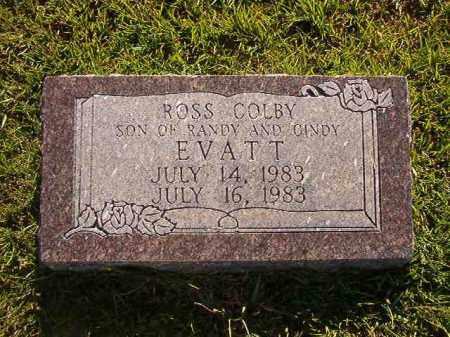 EVATT, ROSS COLBY - Faulkner County, Arkansas | ROSS COLBY EVATT - Arkansas Gravestone Photos