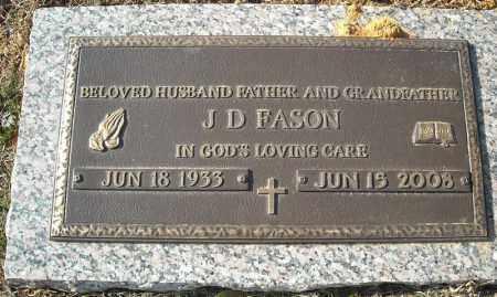FASON, J.D. - Faulkner County, Arkansas   J.D. FASON - Arkansas Gravestone Photos